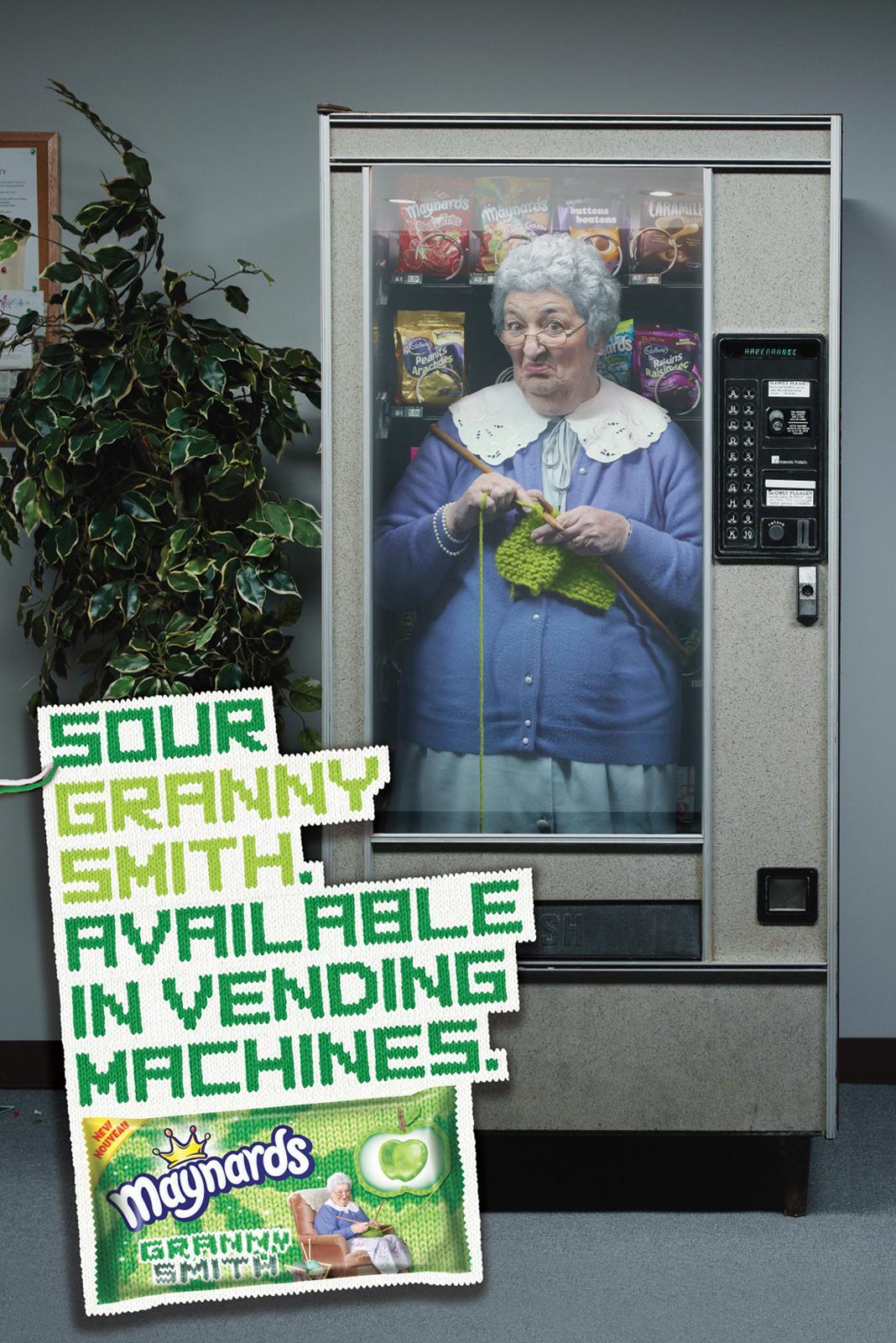 Maynards Print Ad -  Vending