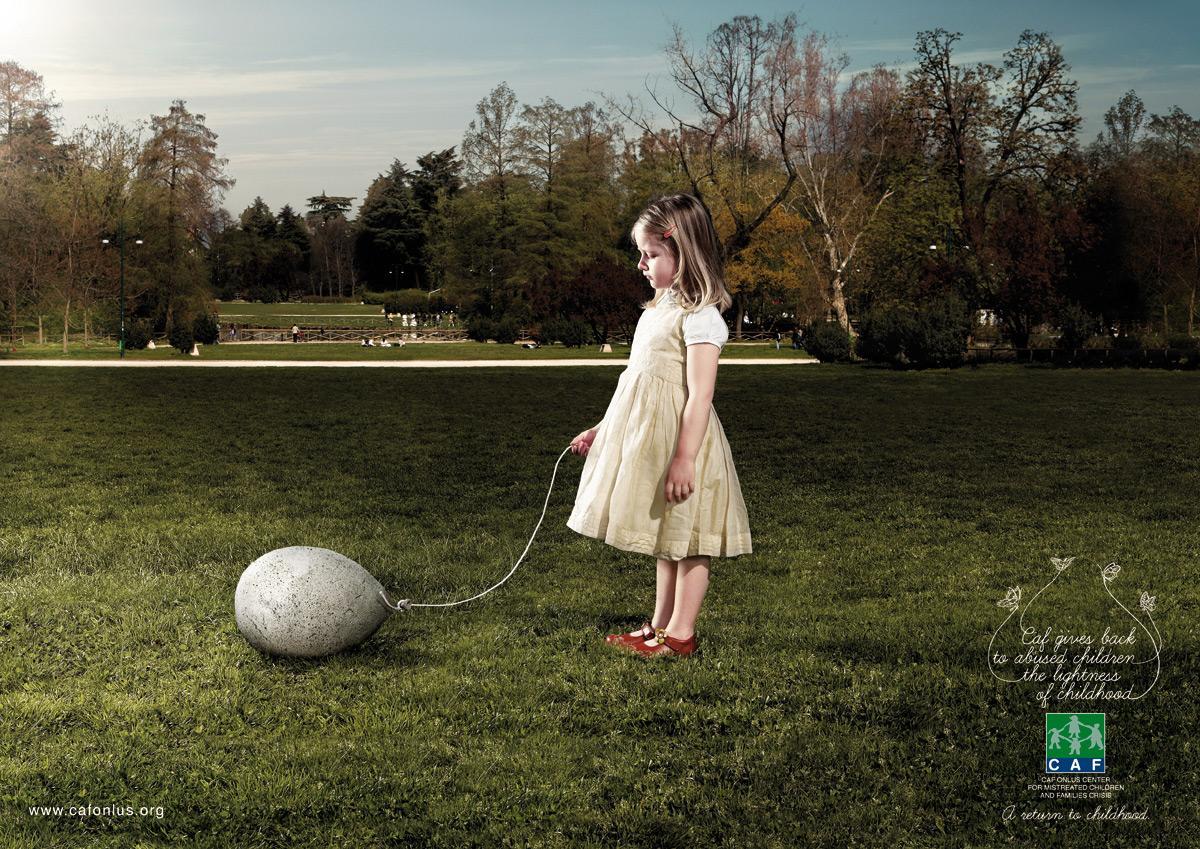 CAF Print Ad -  Balloon