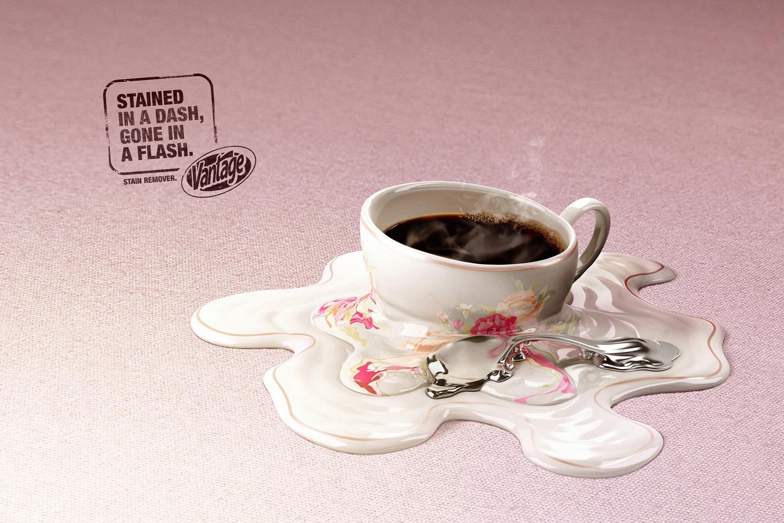 Vantage Print Ad -  Coffee