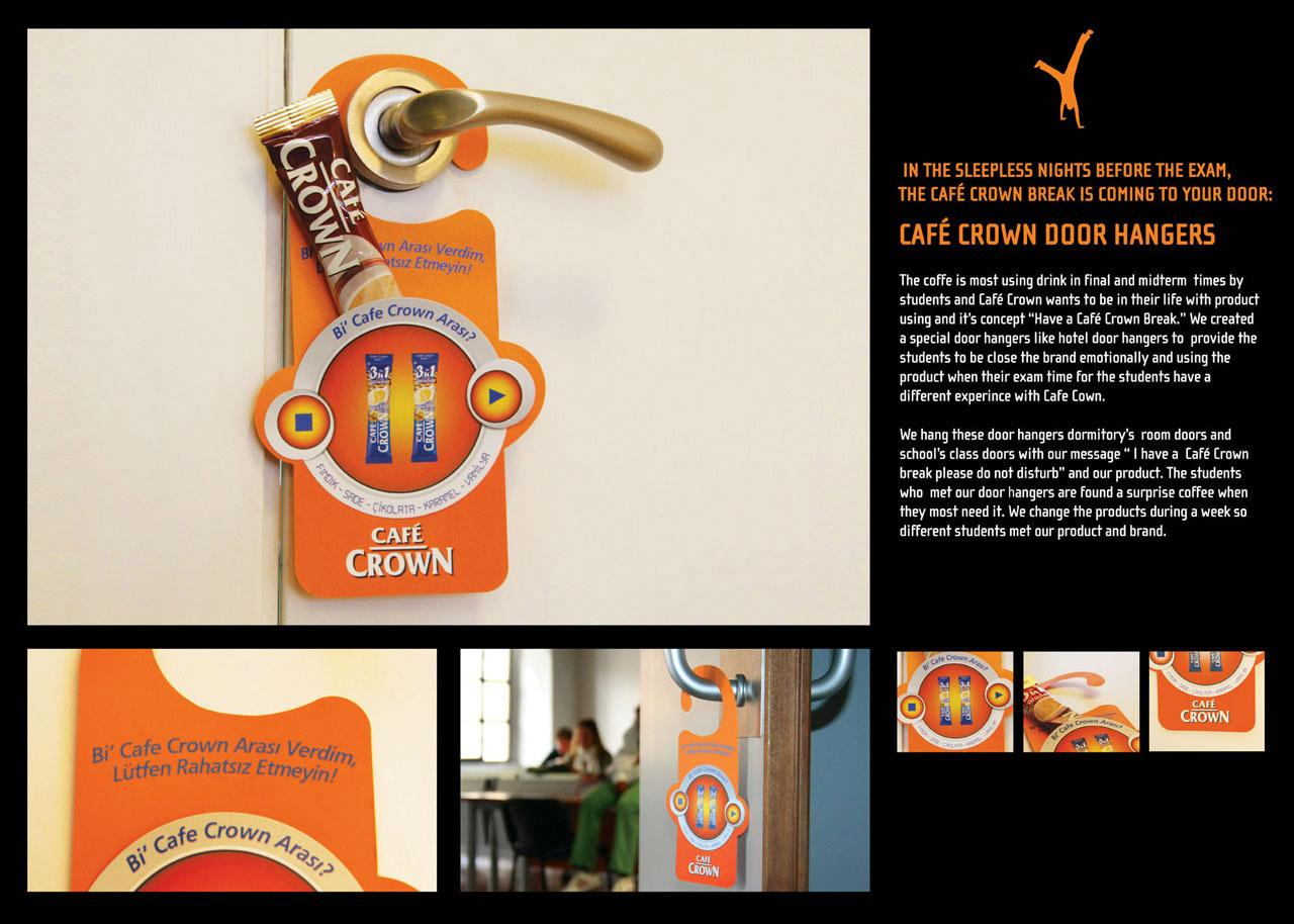 Cafe Crown Direct Ad -  Doors