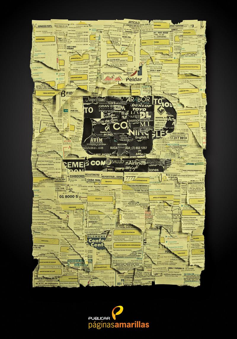 Yellow Pages Print Ad -  Coffe Stores