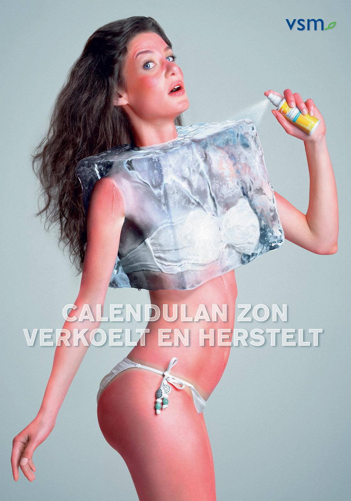 Calendulan Print Ad -  Icecube