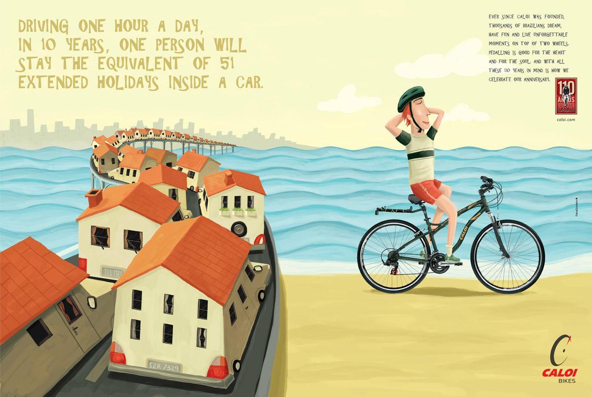 Caloi Print Ad -  Holiday