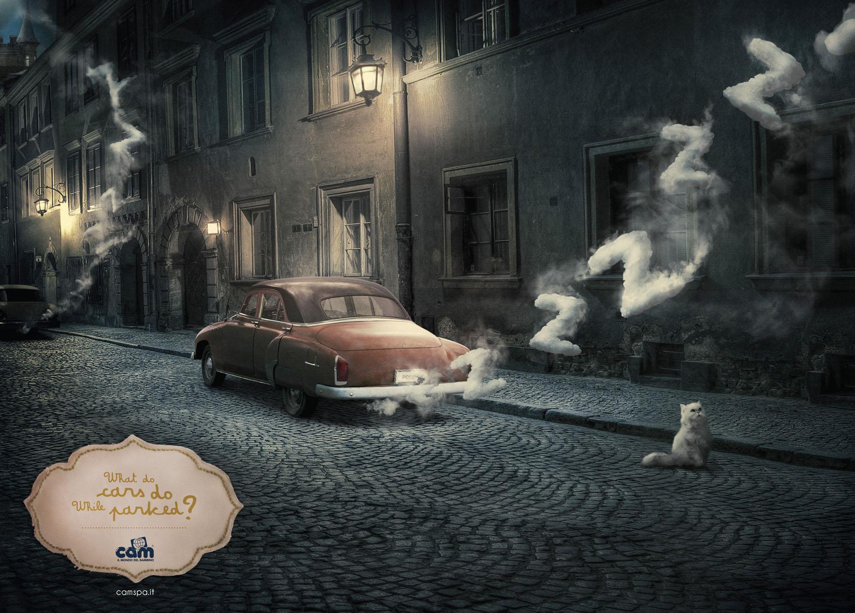 Cam Print Ad -  The Child's world, Car