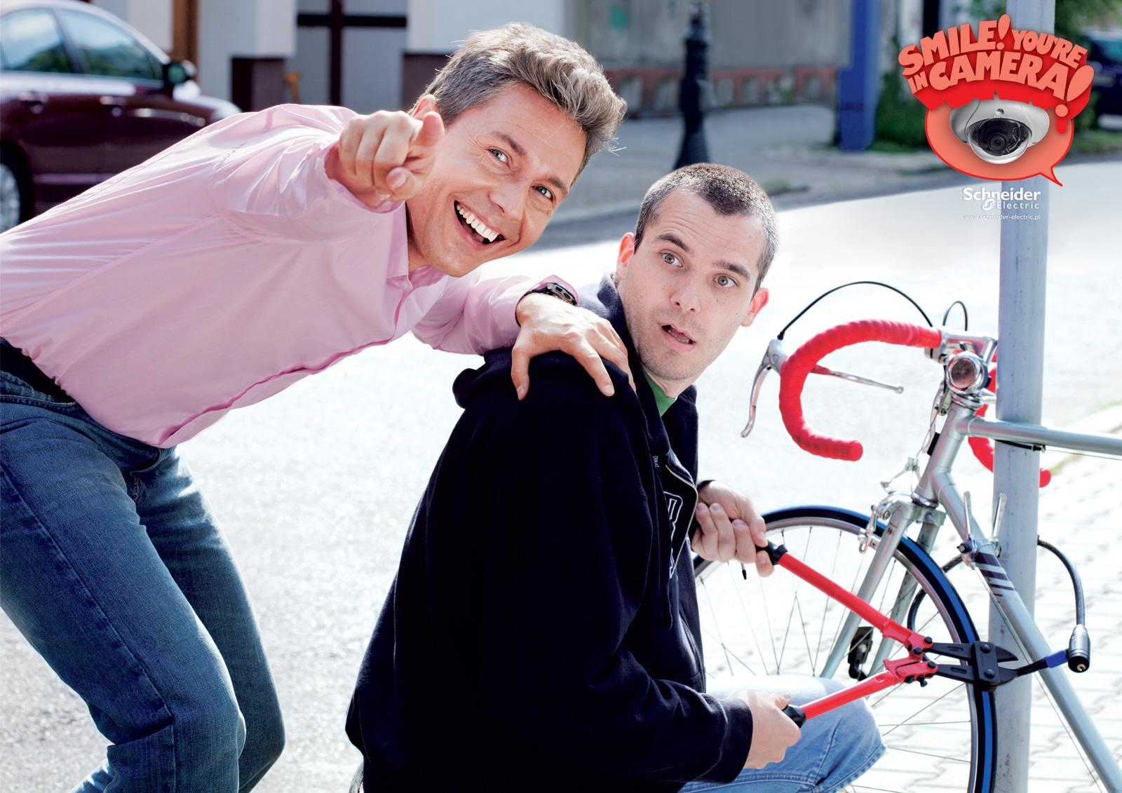 Schneider Print Ad -  Bike
