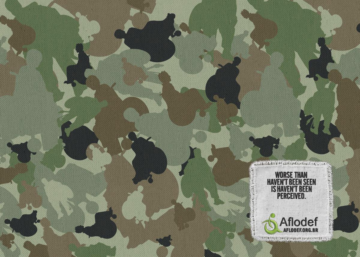 Aflodef Print Ad -  Camouflage, 1