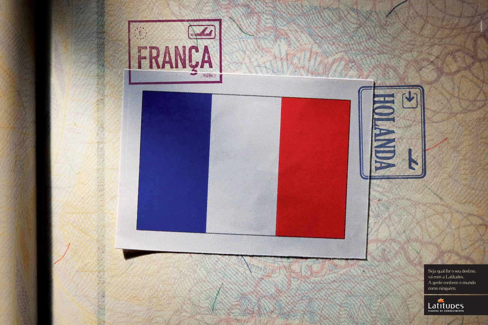 Latitudes Print Ad -  France / Holland