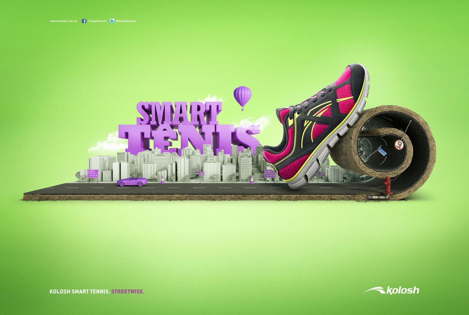 Kolosh Print Ad -  Streetwise, 2