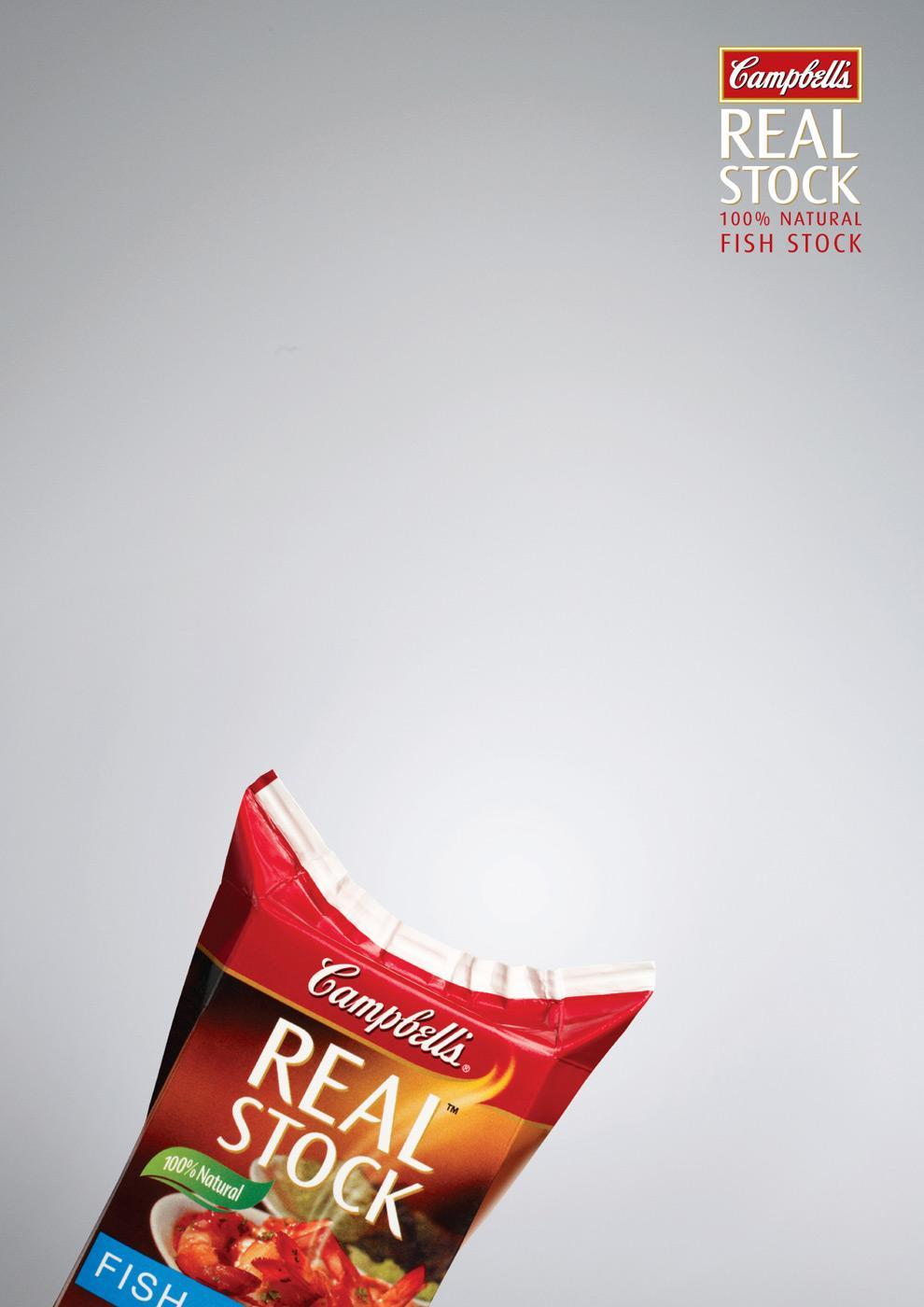 Campbell's Print Ad -  Fish