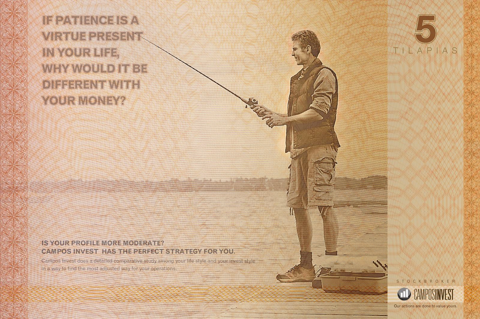 Campos Invest Print Ad -  Fisherman