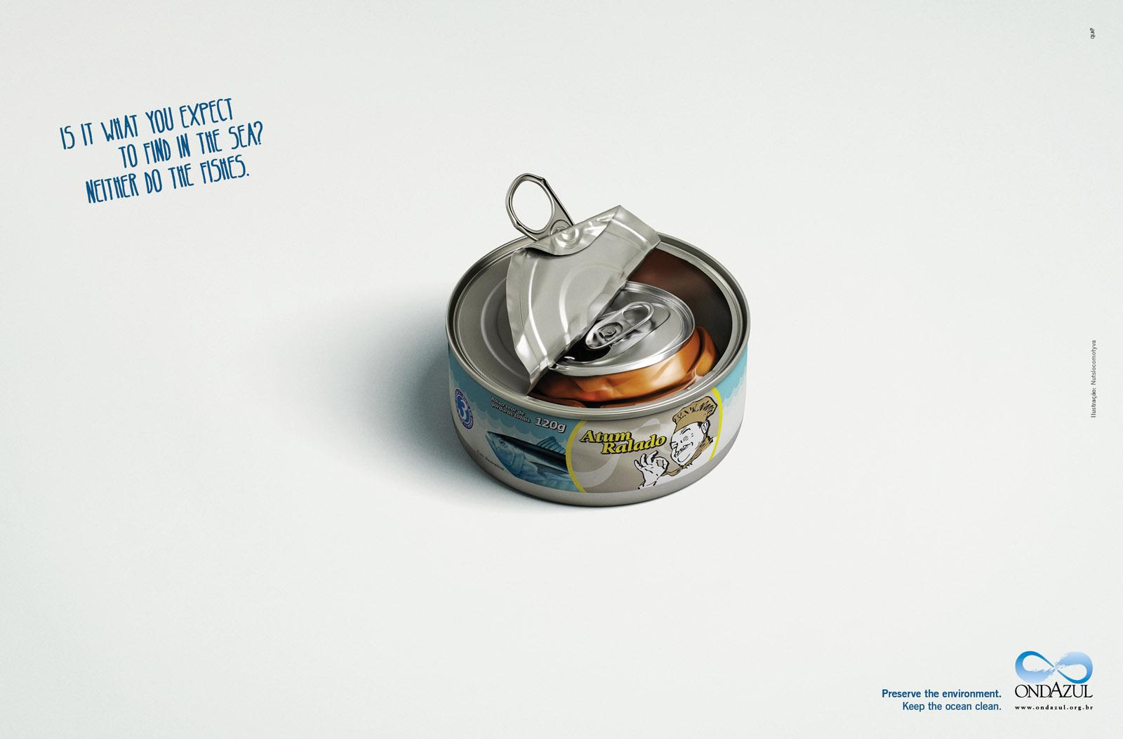 Ondazul Print Ad -  Tuna
