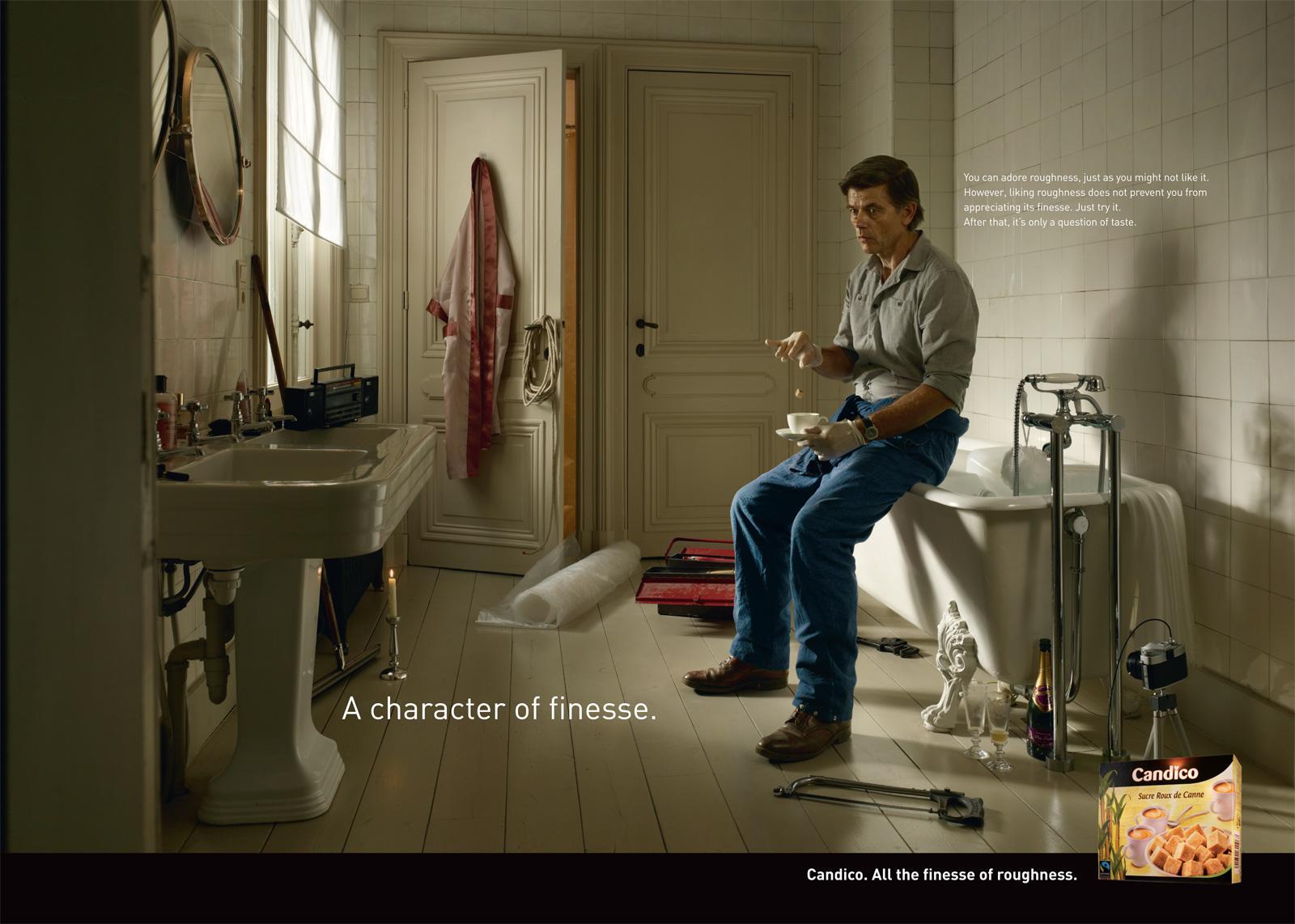 Candico Print Ad -  Bathroom
