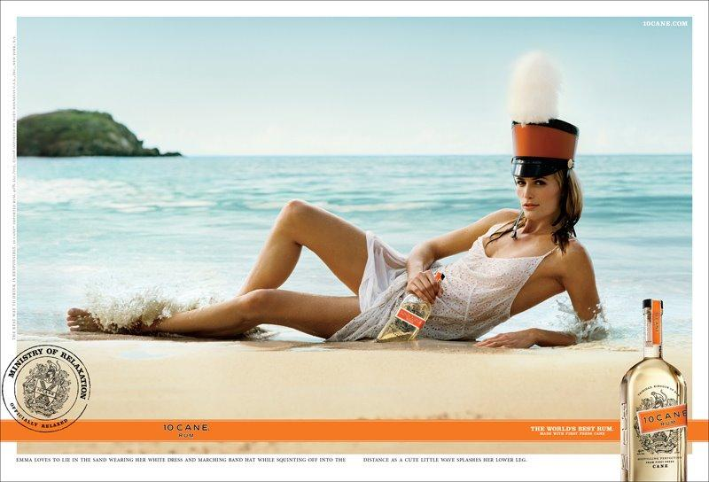 10 Cane Print Ad -  Ministry of relaxation, 1