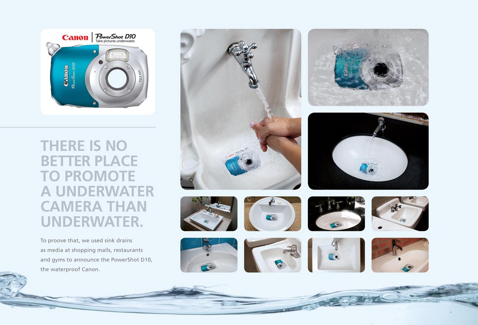 Canon Ambient Ad -  Waterproof Camera Sticker