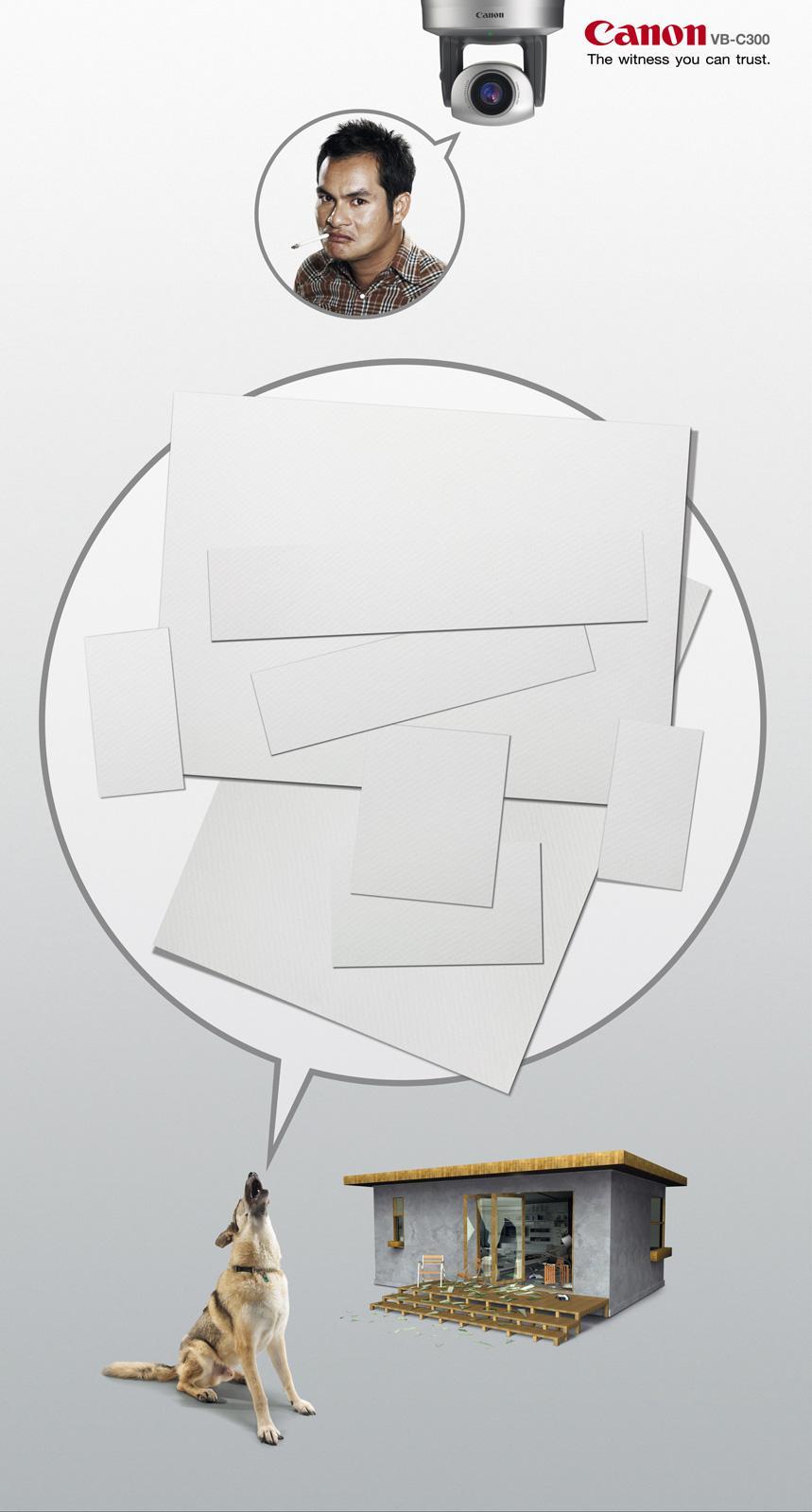 Canon Print Ad -  Dog
