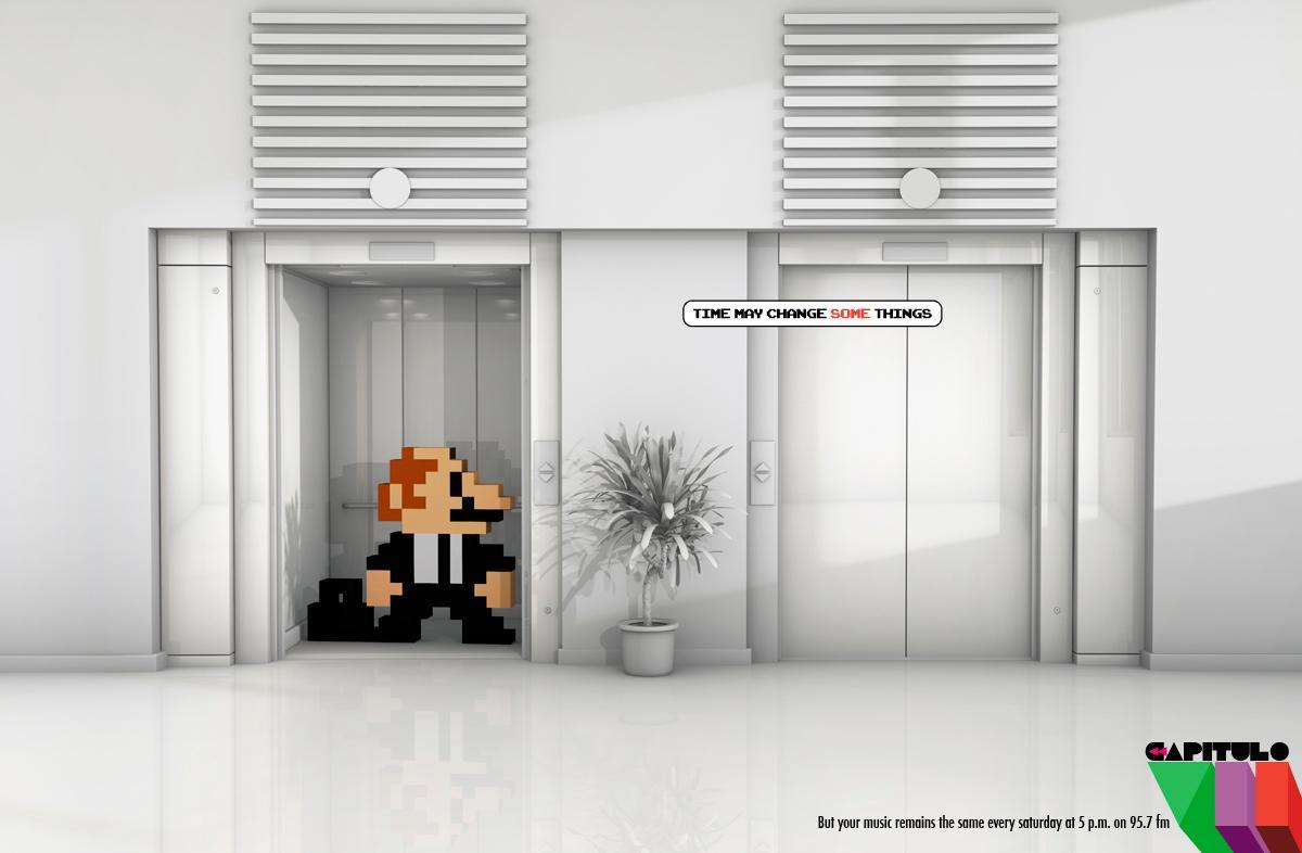 Capitulo VII Print Ad -  Mario