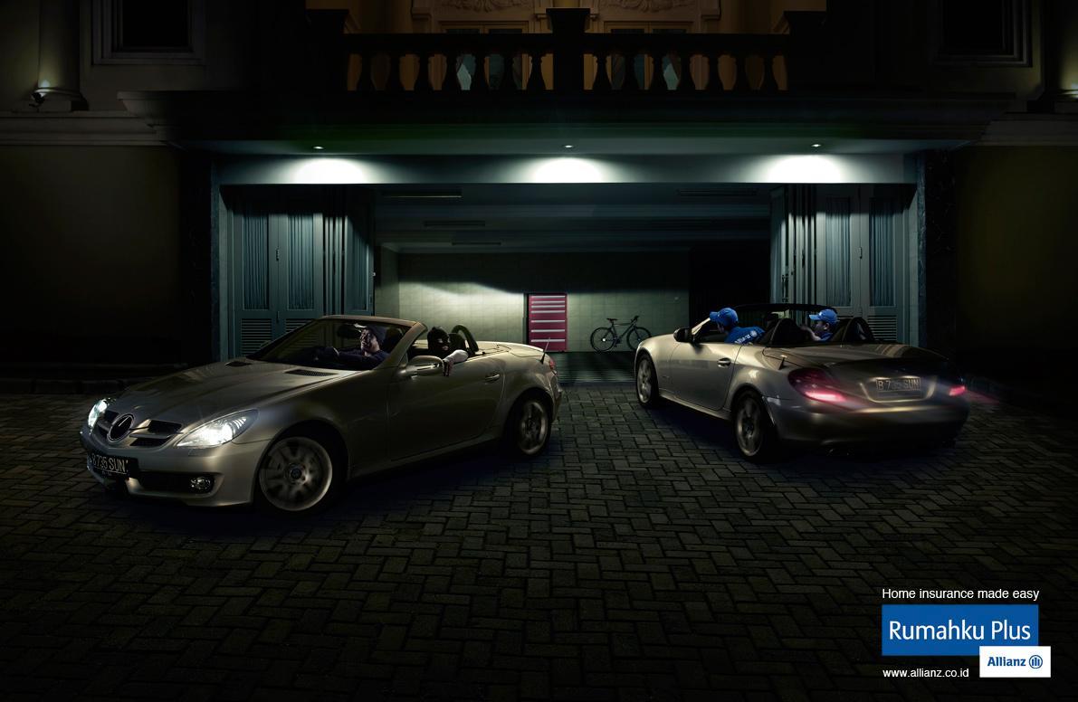 Allianz Print Ad -  Car Thieves