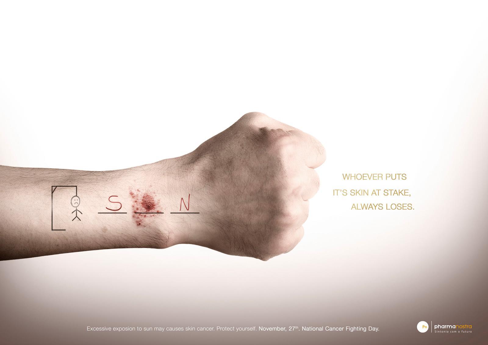 Pharma Nostra Print Ad -  Hand