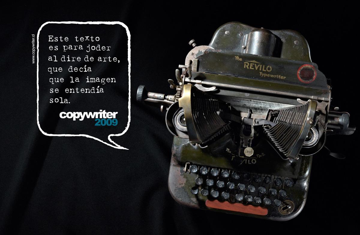 Copywriter Print Ad -  Text, 2