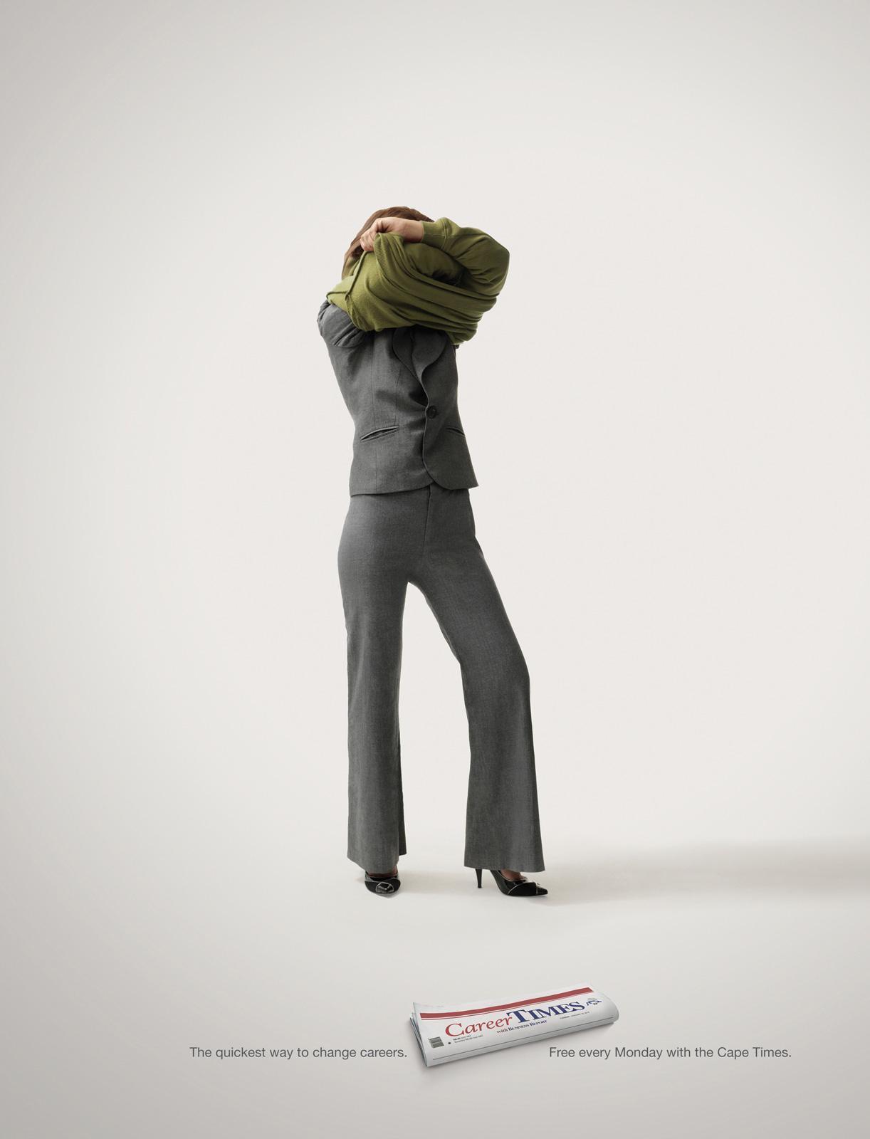 Career Times Print Ad -  Business Woman