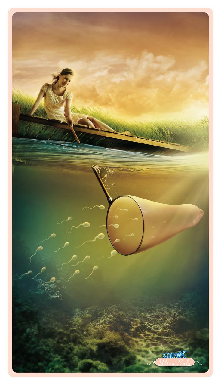 Carex Print Ad -  Fishing