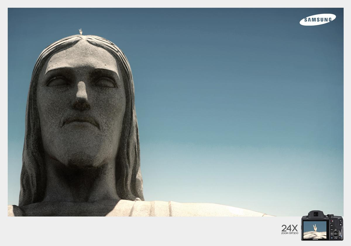 Samsung Print Ad -  Christ the Redeemer