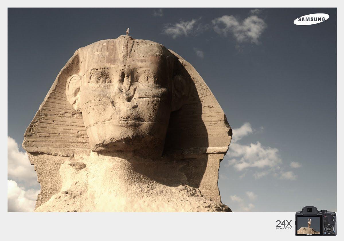 Samsung Print Ad -  Sphinx