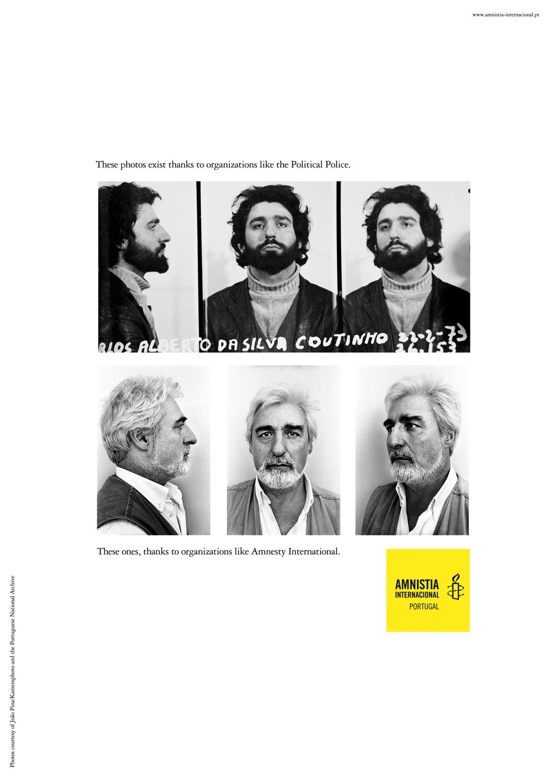 Amnesty International Print Ad -  Carlos