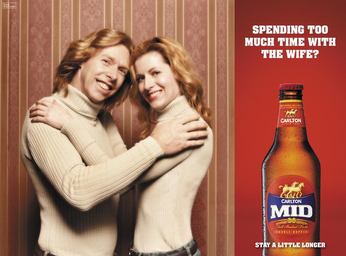 Carlton Print Ad -  Redheads