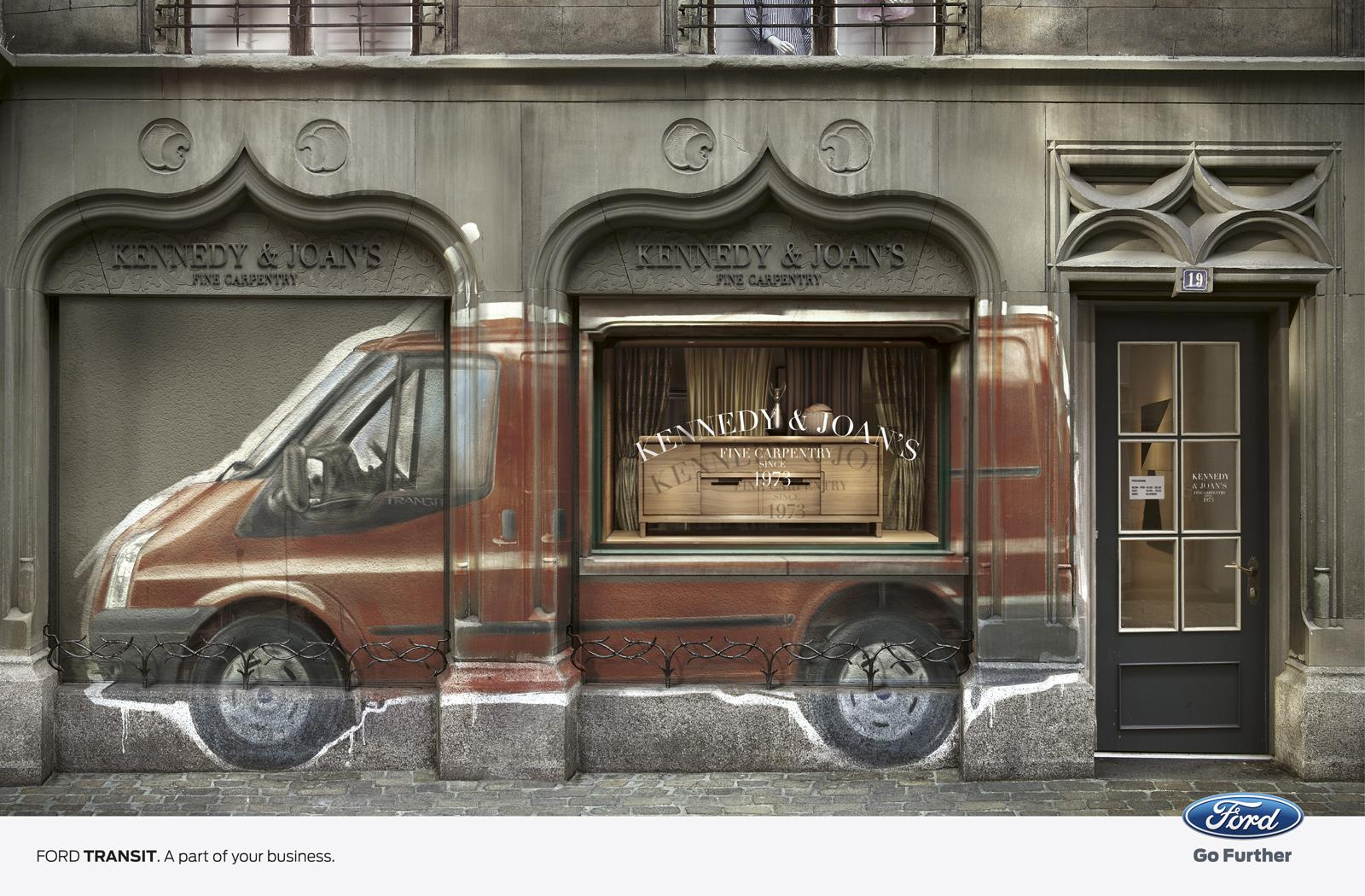 Ford Print Ad -  Carpets