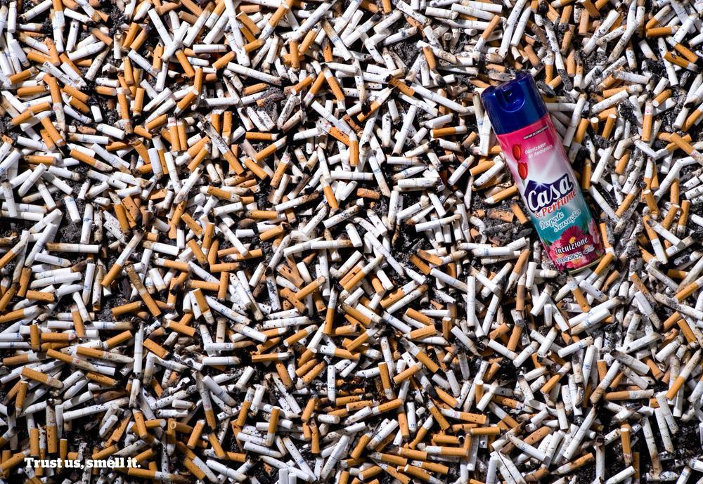 Casa & Perfume Print Ad -  Cigarettes
