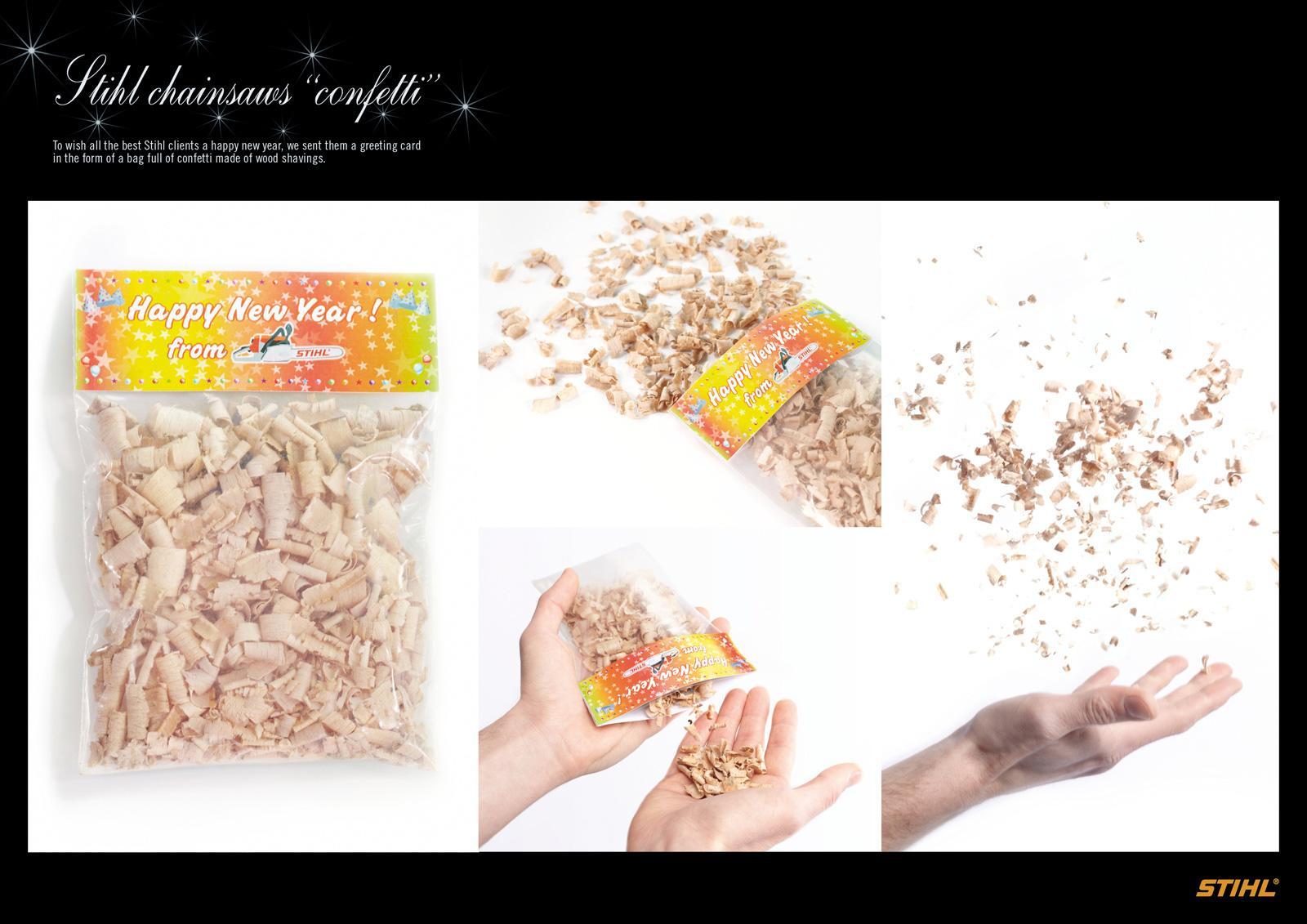 Stihl Direct Ad -  Confetti