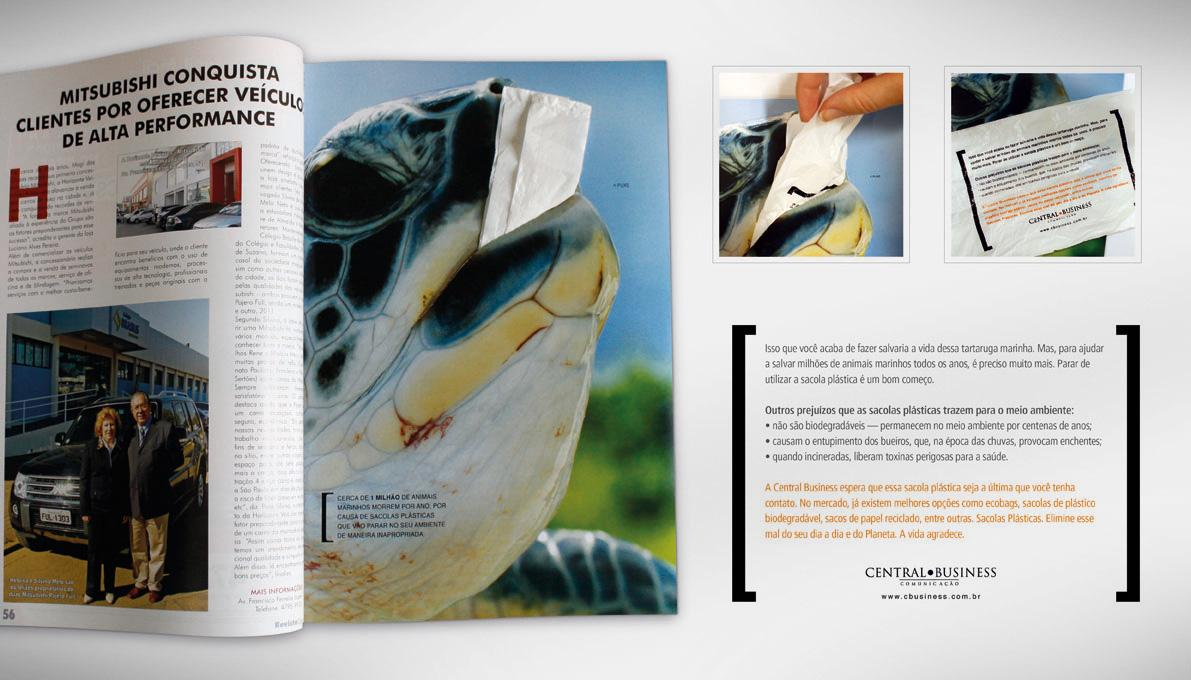 Central Business Print Ad -  Turtle
