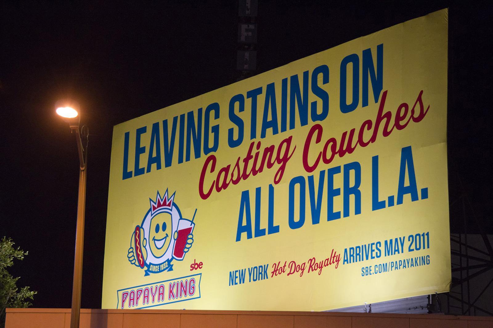 Papaya King Outdoor Ad -  Casting