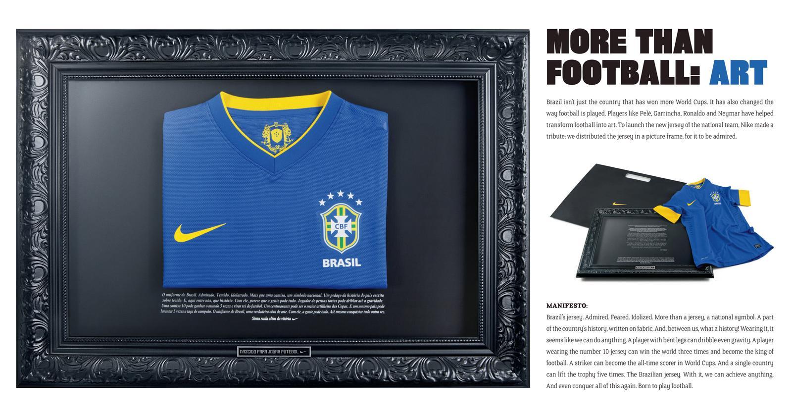 Nike Direct Ad -  New Clubs Sponsorship, Art