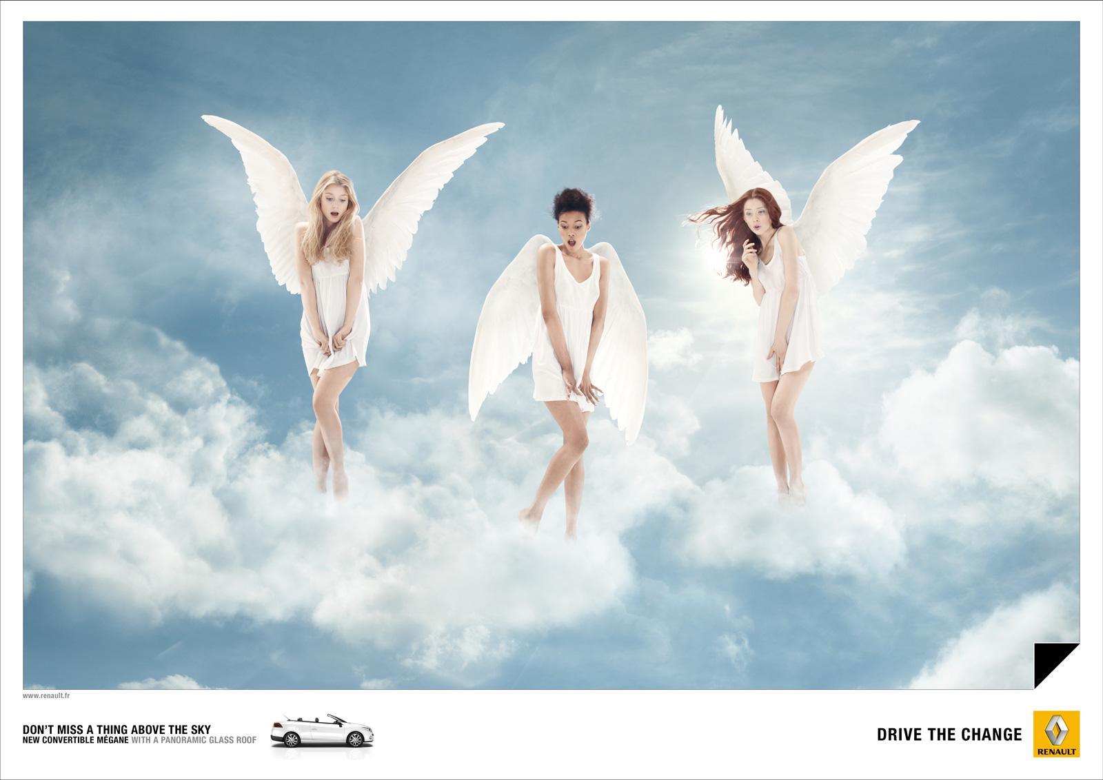 Renault Print Ad -  Angels