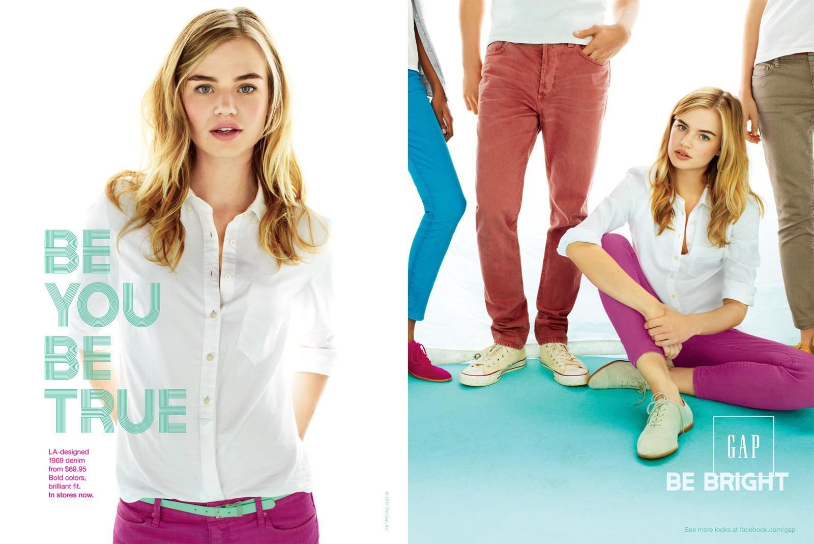 GAP Print Ad -  Blonde