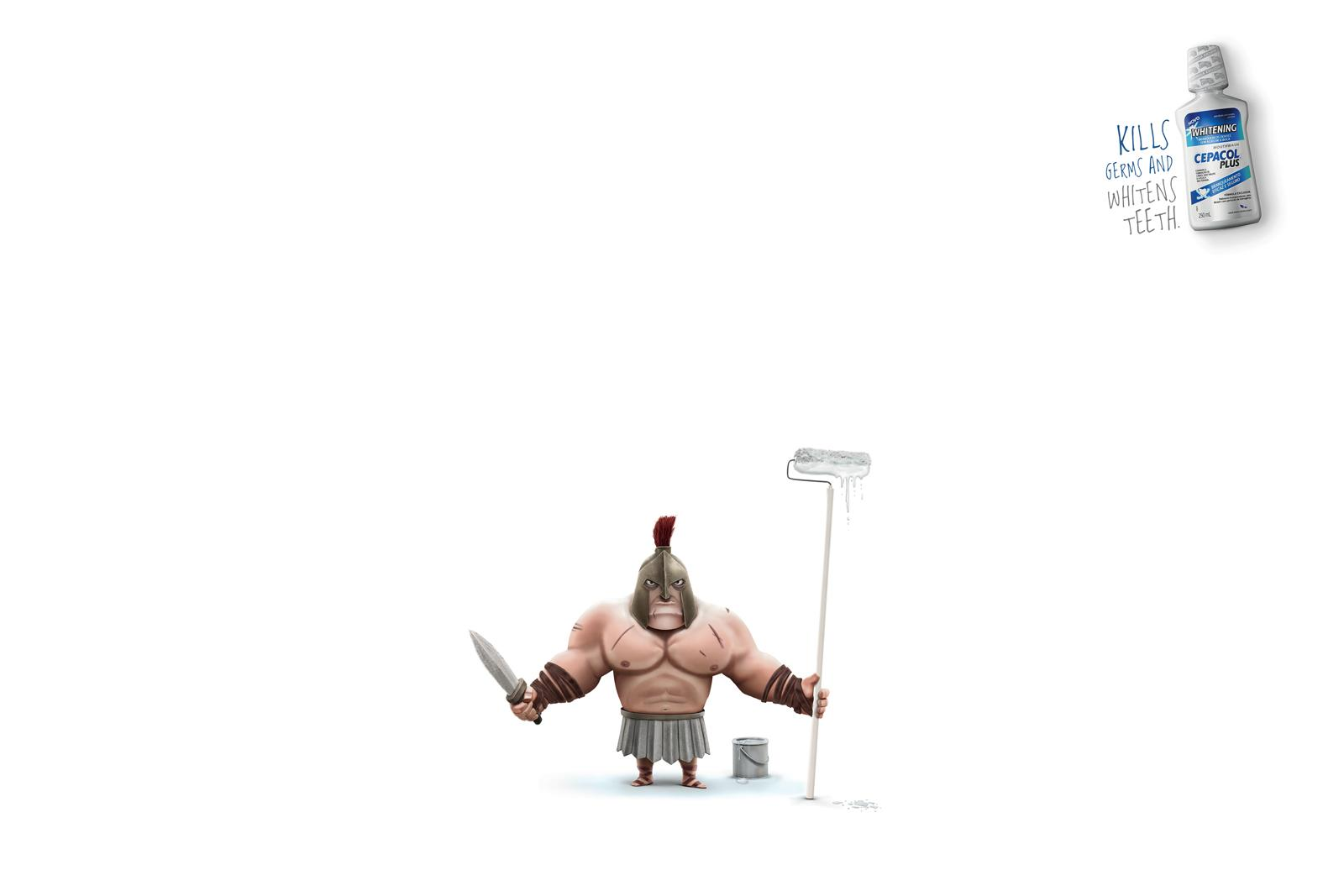 Cepacol Print Ad -  Spartan