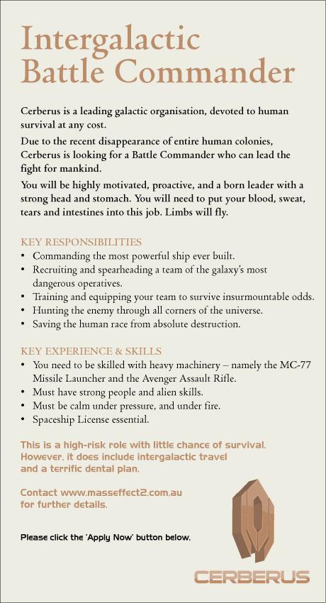 EA Games Digital Ad -  Battle Commander