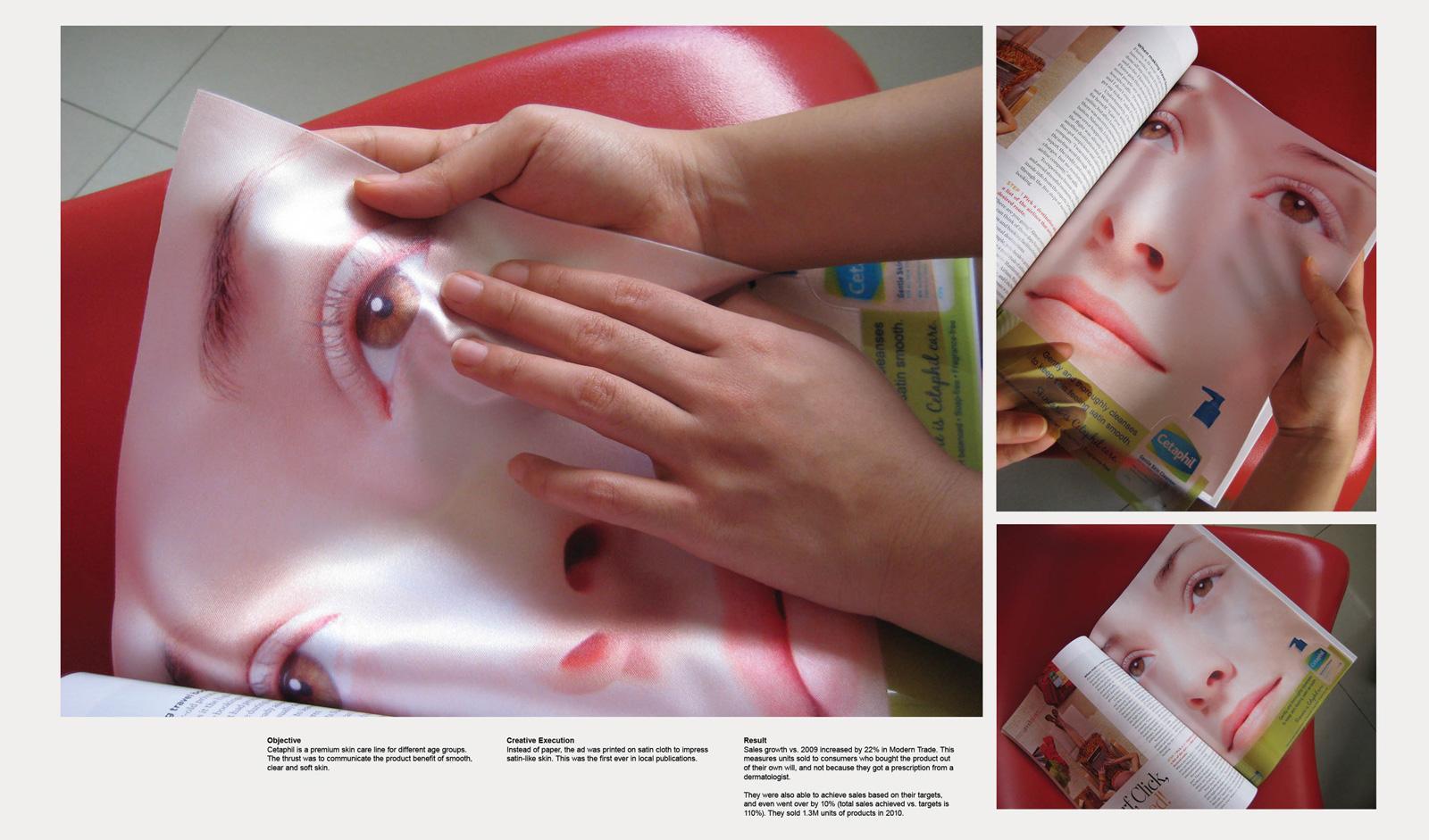 Cetaphil Print Ad -  Face