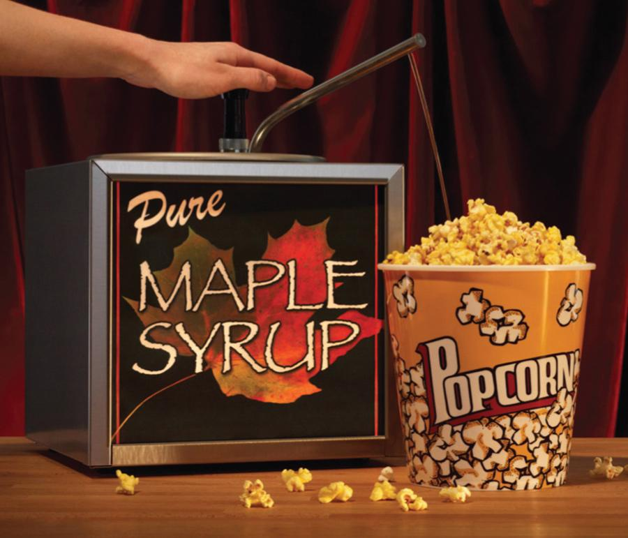 Canadian Film Festival Ambient Ad -  Maple Syrup Popcorn