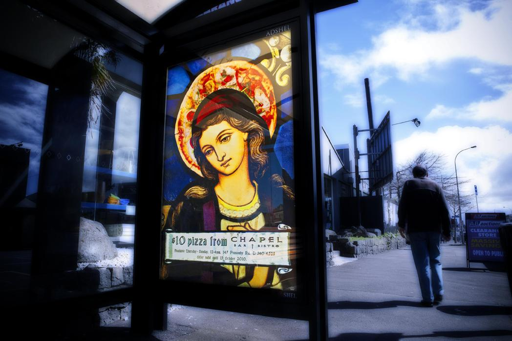 Chapel Bar Outdoor Ad -  Mary