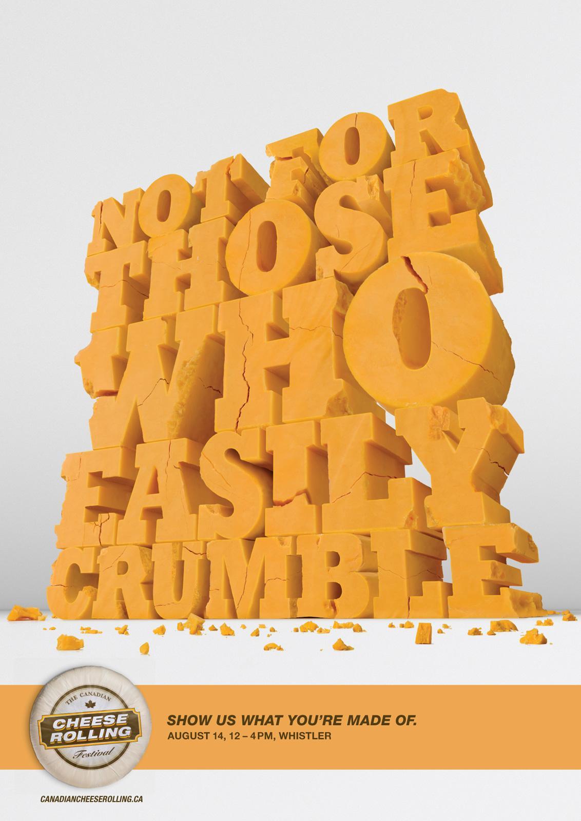 Dairy Farmers of Canada Print Ad -  Cheddar