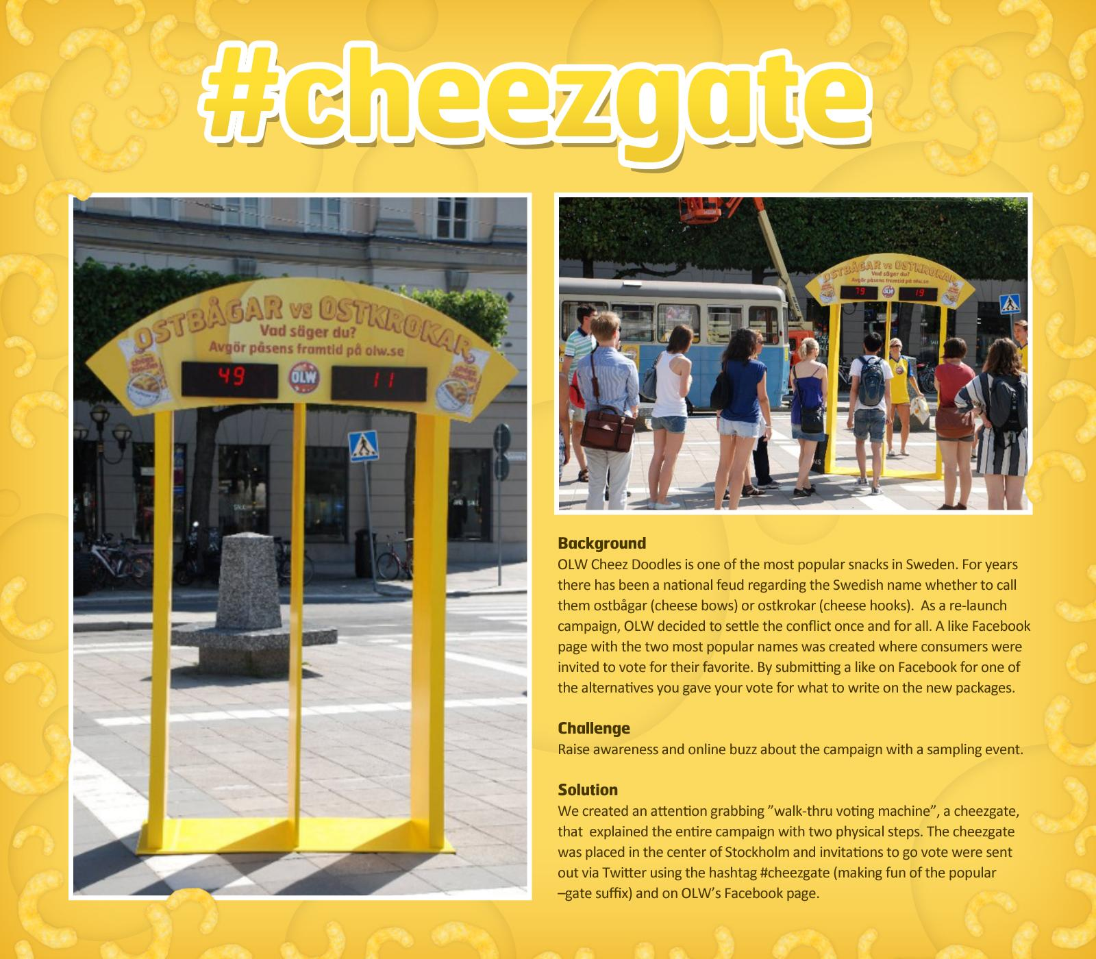 OLW Ambient Ad -  #cheezgate