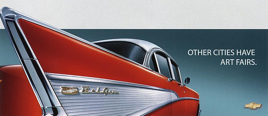 Chevrolet Print Ad -  Art fairs
