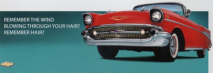 Chevrolet Print Ad -  Hair