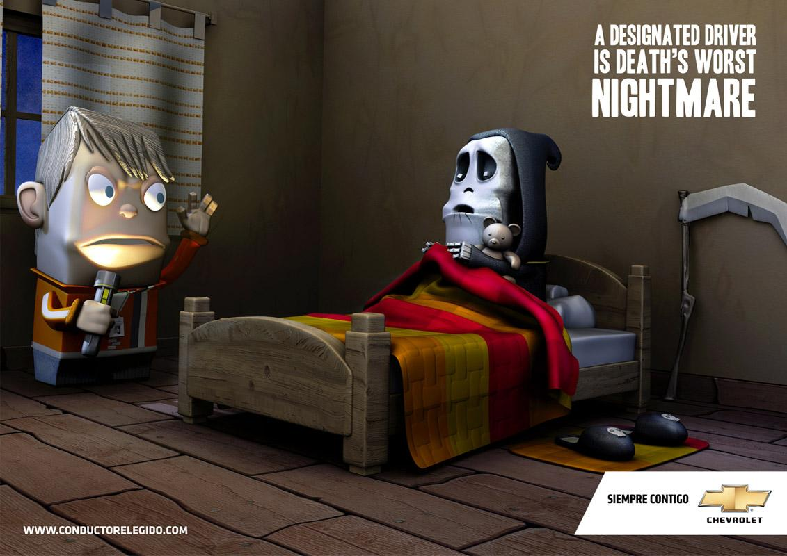 Chevrolet Print Ad -  Bed