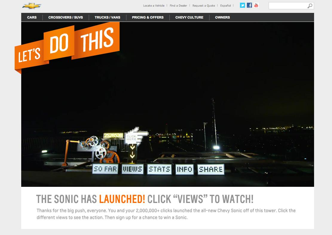 Chevrolet Digital Ad -  Let's do this