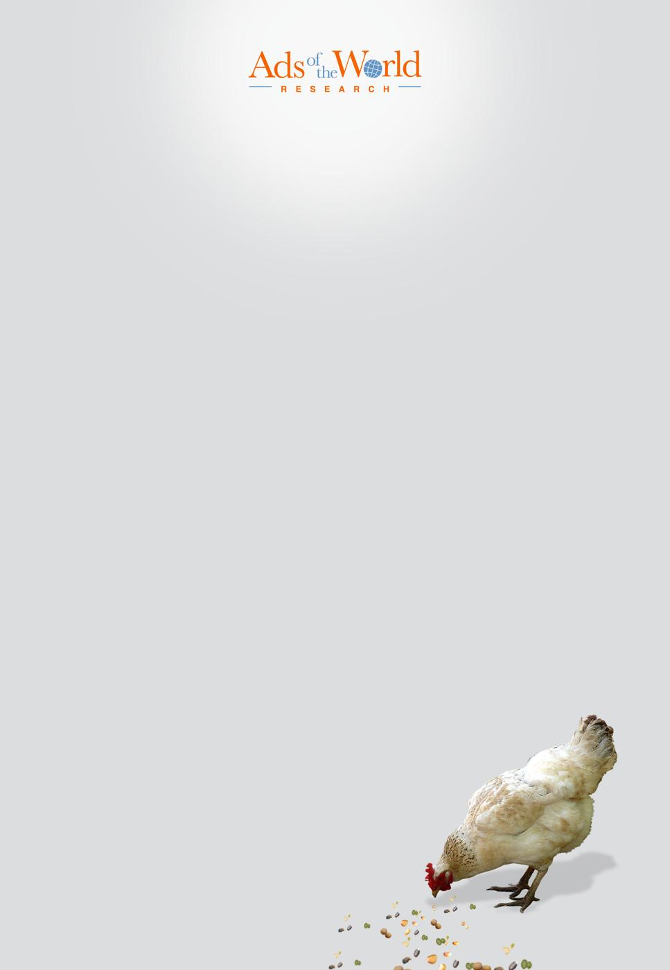 Ads of the World Print Ad -  Chicken