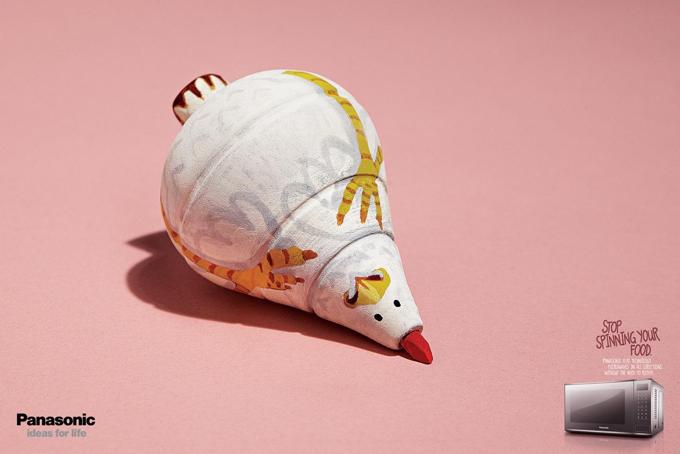 Panasonic Print Ad -  Chicken